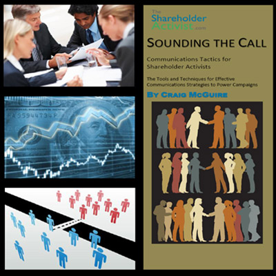Sounding the Call: Communications Tactics for Shareholder Activists